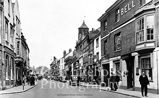 1930 photo of Nottingham Street