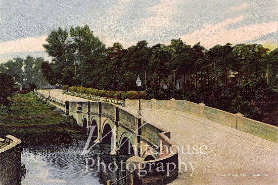 Vintage photo of Lady Wilton Bridge
