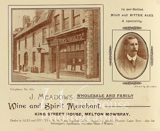 J Meadows Coronation advert