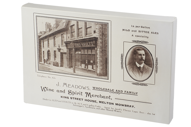 old melton mowbray memorabilia adverts photographs images antique classic historical canvas wall art print mugs postcards