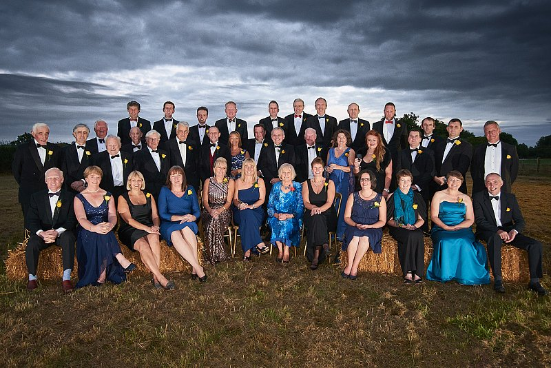 young farmers large group event photography dinners full service contract professional